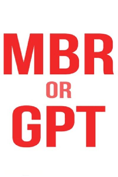 GPT یا MBR